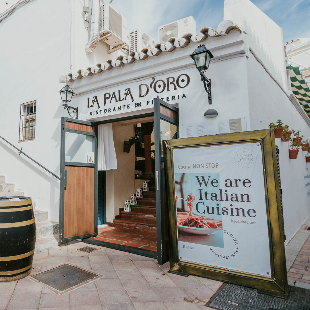 Restaurante Italiano Benalmádena - La Pala D'Oro